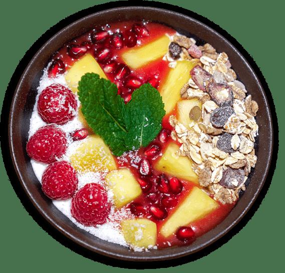 Poké Bowl Restaurant Hawaïen Paris Rosa Parks Yüzù Bowl Dessert 1