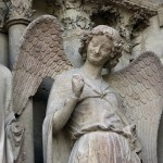 Reims Cathedrale Statue