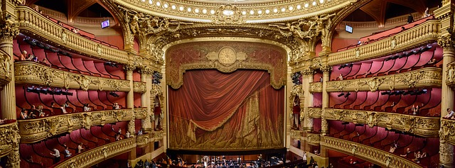 Opéra Garnier - Scène
