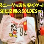 ディズニーランドパリ~SALEでお土産を安くゲット!