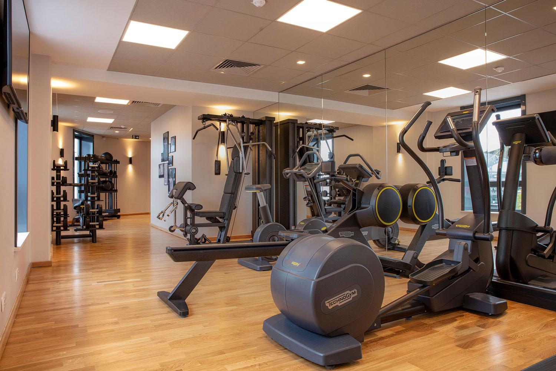 salle de fitness hilton garden inn