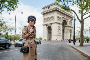 арка триумфа в париже