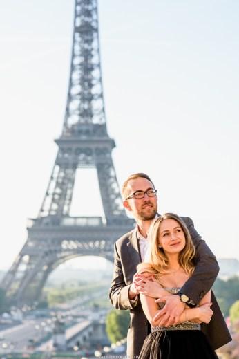 фотосессия в Париже на Трокадеро