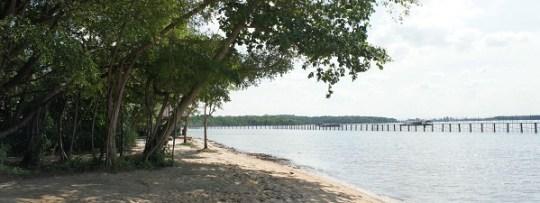 Pulau Ubin plage