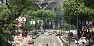 Scott Road à Singapour