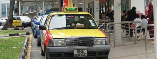 Les Taxis à Singapour