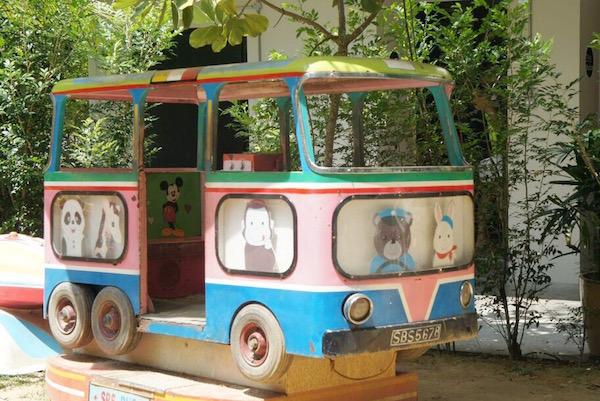 Ce bus ne va PAS à Johor bahru