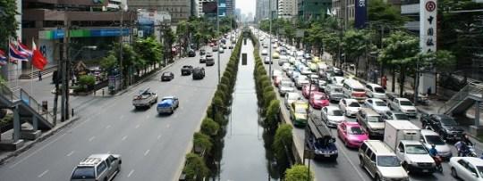 Embouteillages à Bangkok