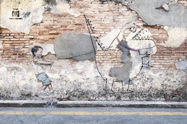 Street Art a Penang