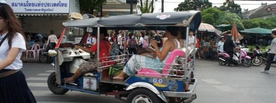 Tuk-tuk à Bangkok