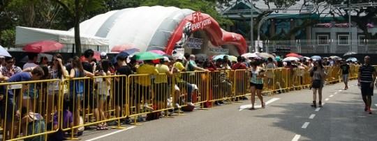 Grand prix de F1 de Singapour - Gate 3