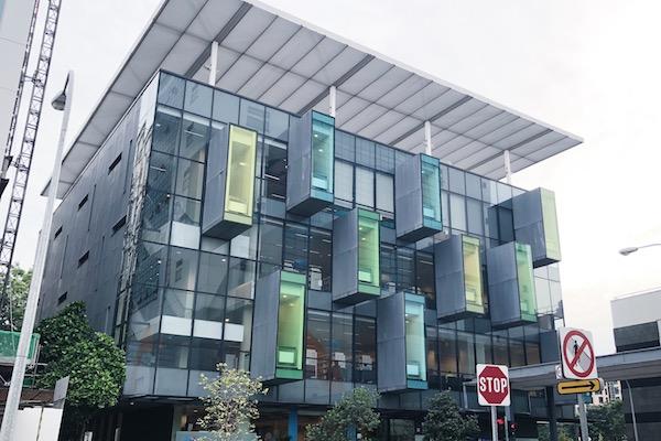 Bibliotheque Bishan Singapour