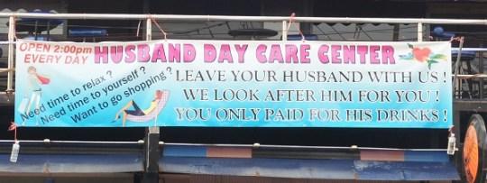 Husband Day Care Center à Phuket, tout un programme