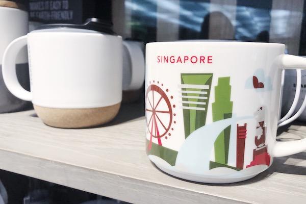 Starbucks Mug Singapour Nouveau