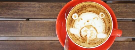 Latte Art à Chock Full of Beans à Changi Village