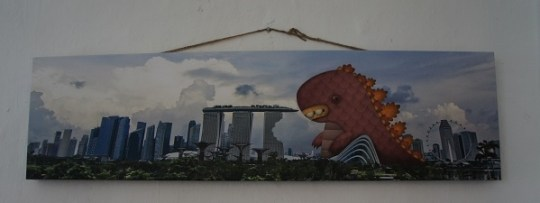 Super monster versus Marina Bay Sands