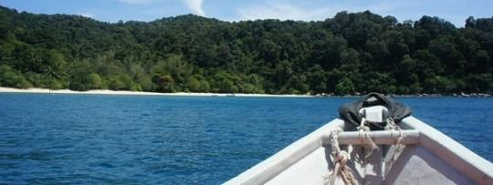 Arrivée aux Perhentian Islands