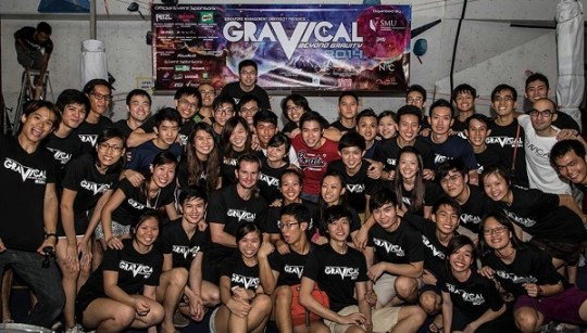 SMU Climb Team for Gravical 2014