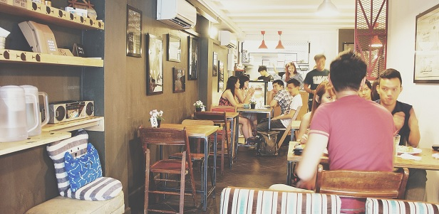 Stateland Cafe à Bali Lane (Singapour)