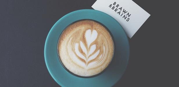 Café Latte à Brawn & Brains