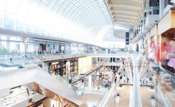 Le mall de Marina Bay Sands