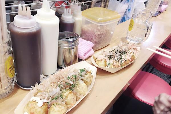 Takoyaki a Sapporo