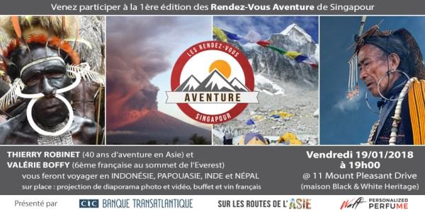 Les Rendez-Vous Aventure   Thierry Robinet & Valérie Boffy