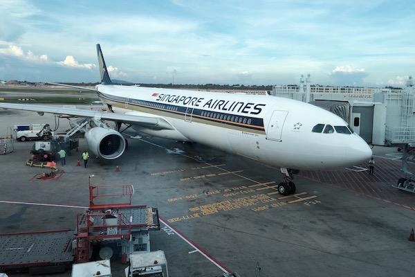 Vol Singapour Bali avec Singapore Airlines