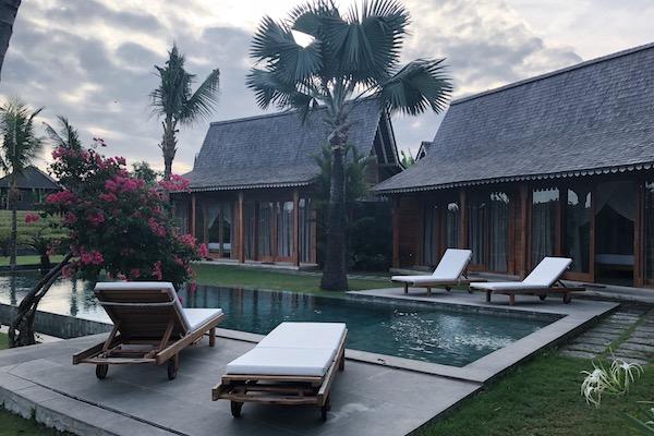 piscine chambre villa bali