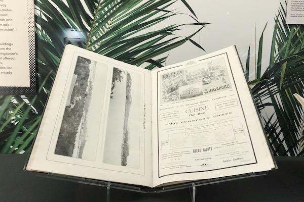 Publicite ancienne raffles hotel