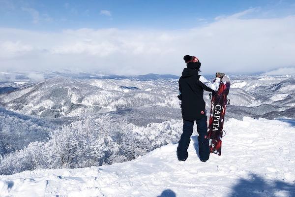 Snowboard madarao kogen