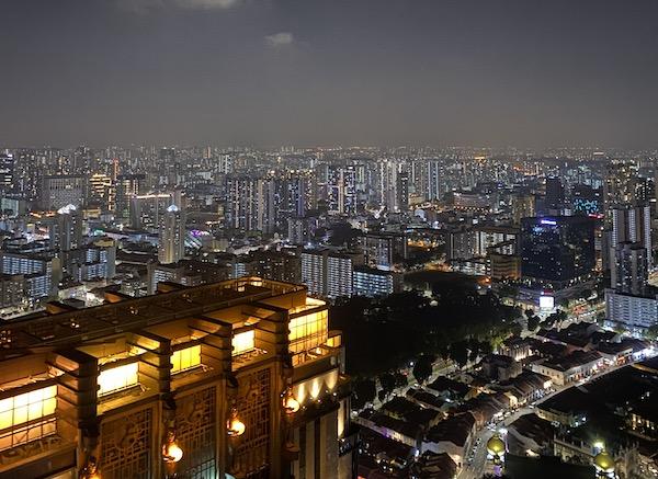 Singapour bugis nuit