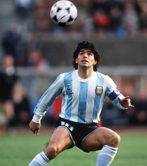 Maradona, la légende du football argentin !!!