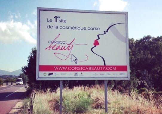 affichage corsica beauty