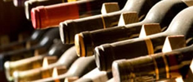 bouteilles vins