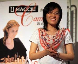 la championne du monde Yifan Hou