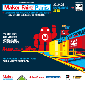 Visuel carré - Maker Faire Paris 2018