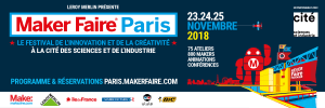 Bannière Twitter 1500 x 500 - Maker Faire Paris 2018