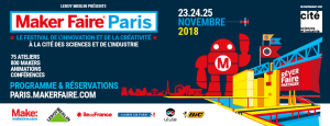 Bannière Facebook - Maker Faire Paris 2018