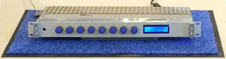 Preampli guitare à lampes piloté Midi sous Linux embarqué dans un Raspberry Pi projet Open Source Open Hardware et autres solutions Midi [+ ATELIER]