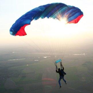 Voile parachute