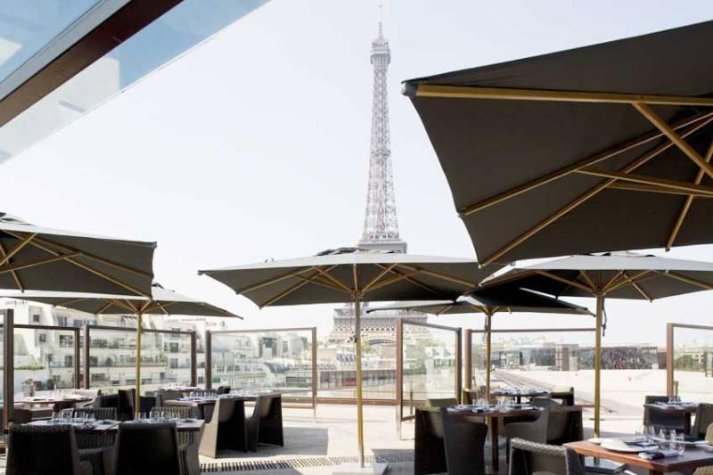 restaurantes com vista para a Torre les ombres
