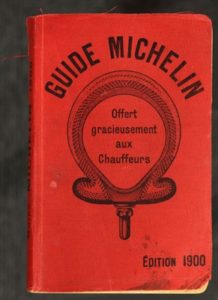 guias Michelin antigo