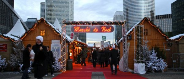 Mercados de Natal La Défense