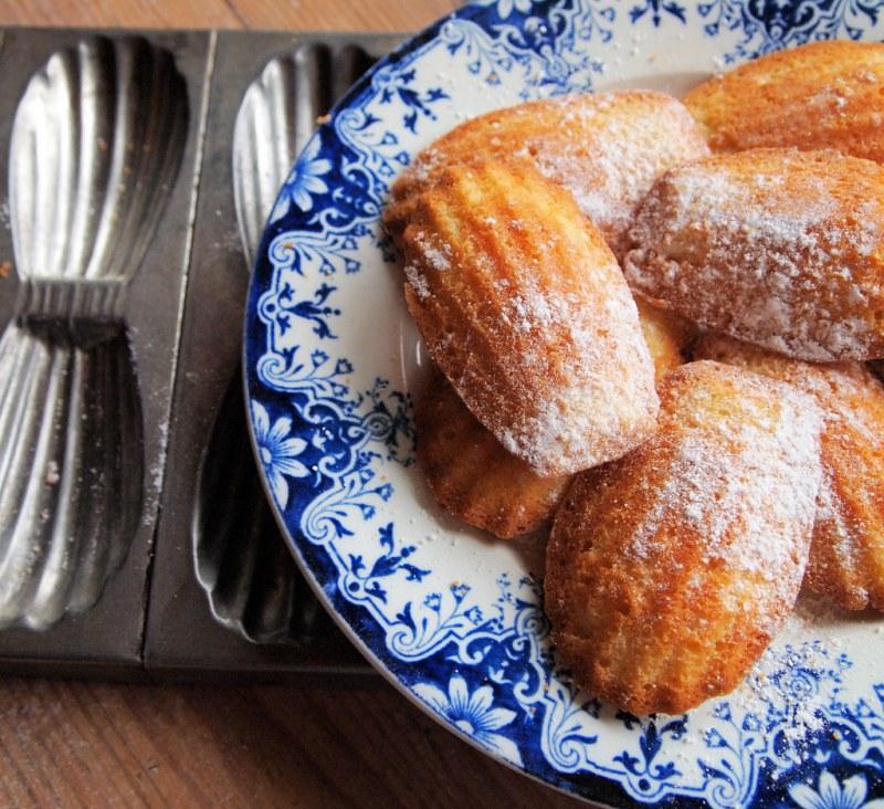 História da Madeleine bolinho francês sobremesa