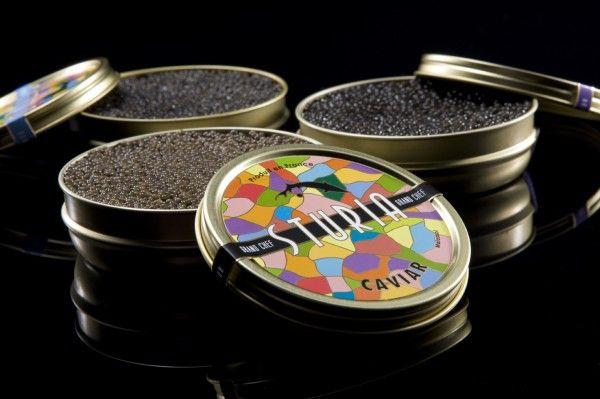 caviar francês sturia