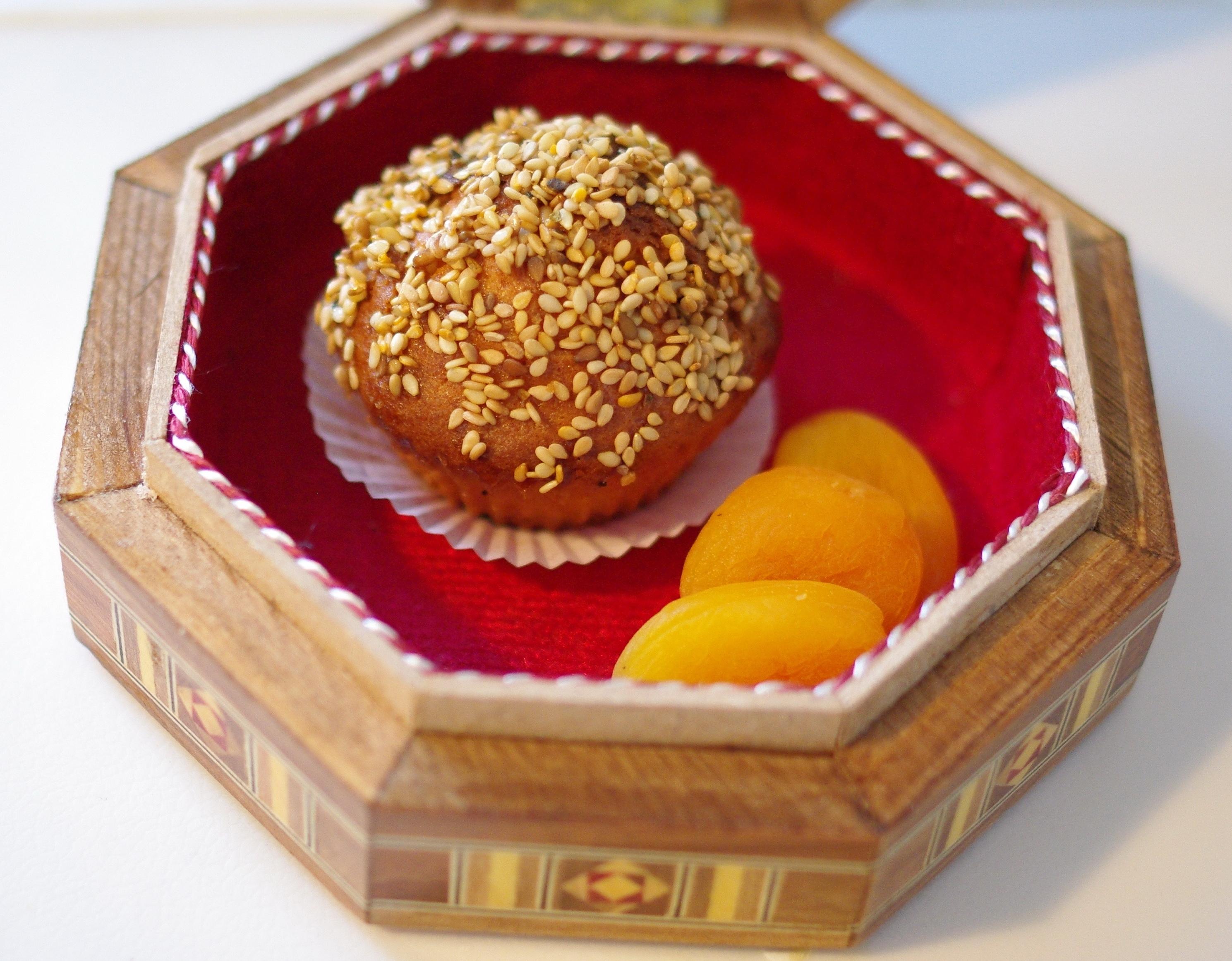 Muffins damascènes