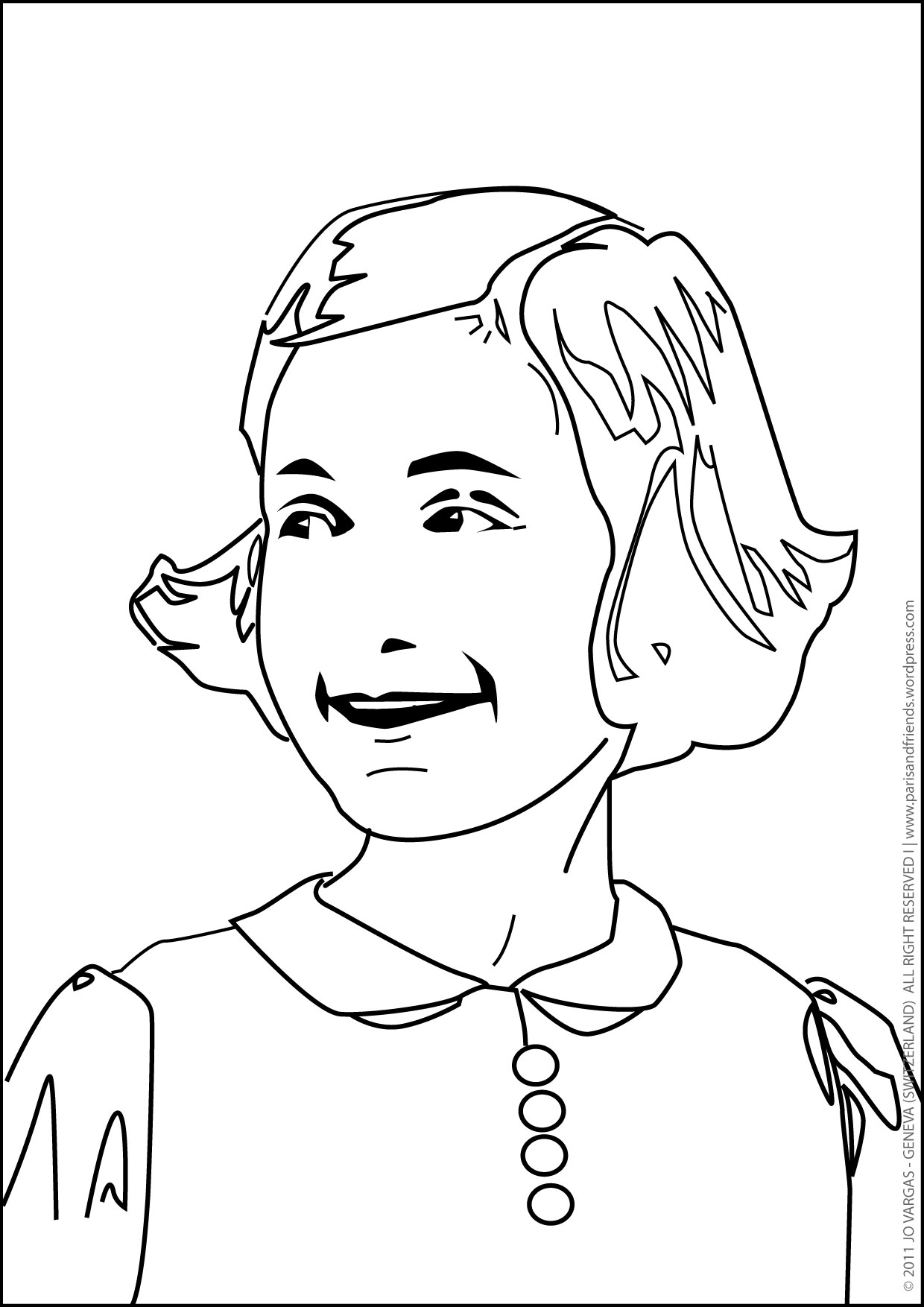 Coloring Pages For Real Kids