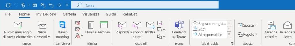 Cercare allegati nelle mail