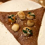 Galette With Sea Scallops At Breizh Cafe In Paris Paris By Mouth